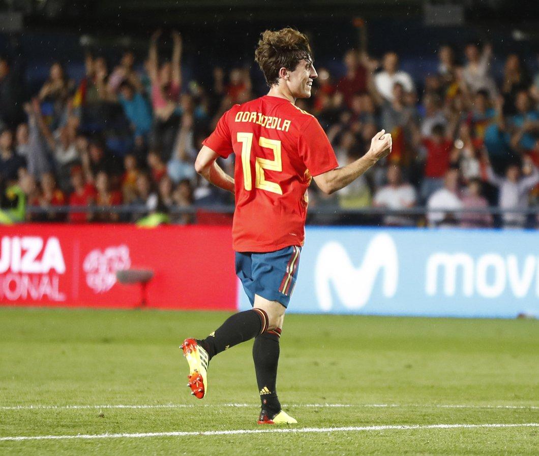 GIF:奥德利奥索拉破门,西班牙打破僵局