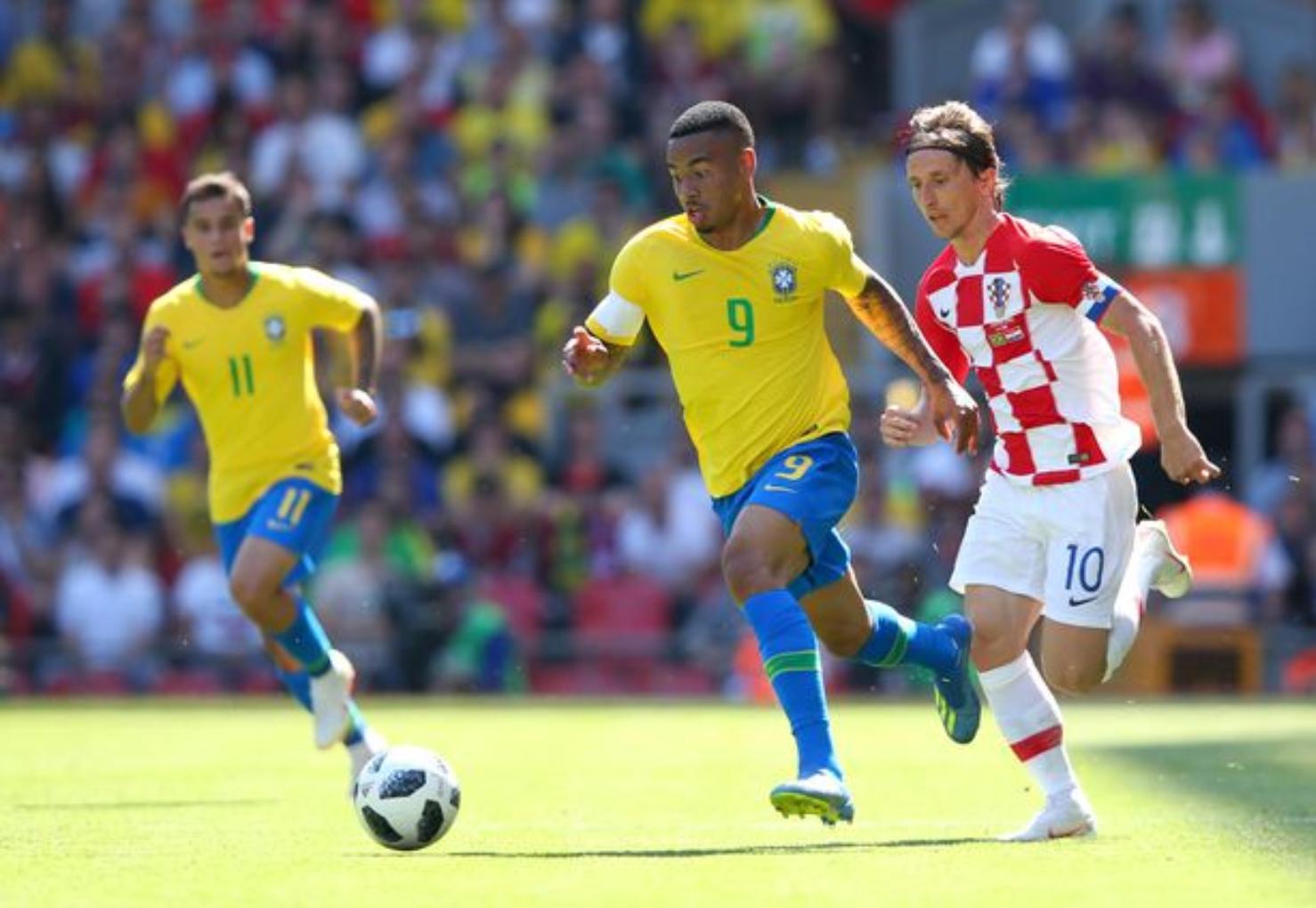 热苏斯谈世界杯:想和巴西队一起创造历史