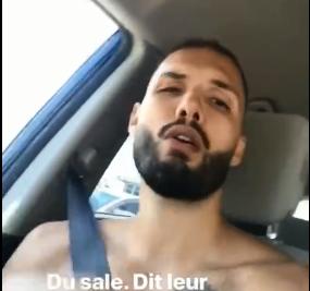 大展歌喉!富尼耶晒出自己与好友车内唱歌的视频