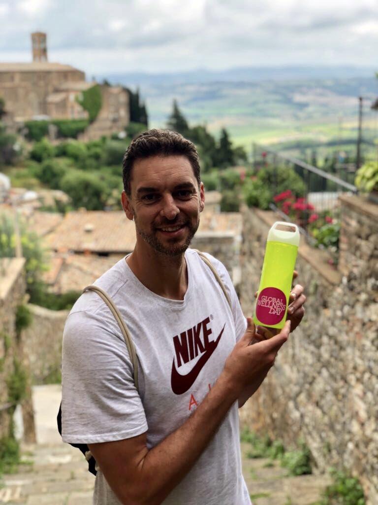 大加索尔晒出自己在意大利旅行的照片