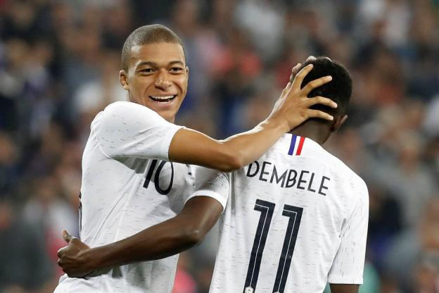 齐达内:法国队的天才球员很多;姆巴佩年纪轻轻成绩却非凡