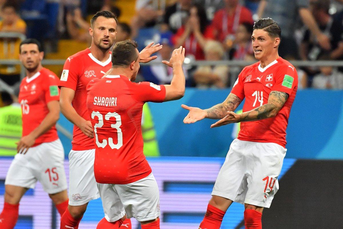 稳如磐石!瑞士近52年世界杯首秀不败