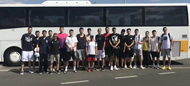 同曦队抵达立陶宛,将开始一个月的海外拉练