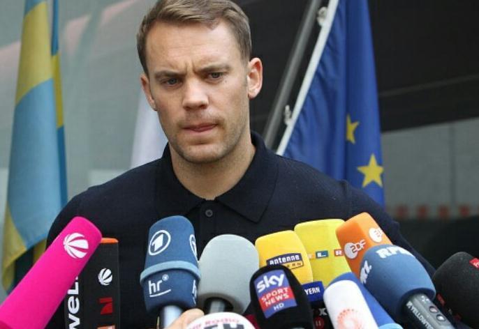 诺伊尔:我为最后一个丢球负责,不会退出国家队