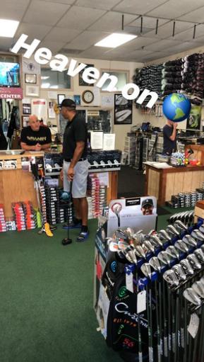 库里逛高尔夫球用品商铺:地球上的地狱