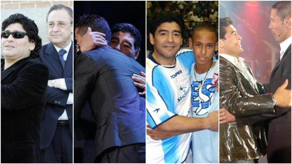 马拉多纳:阿根廷现在还配不上西蒙尼,改变必须自下而上