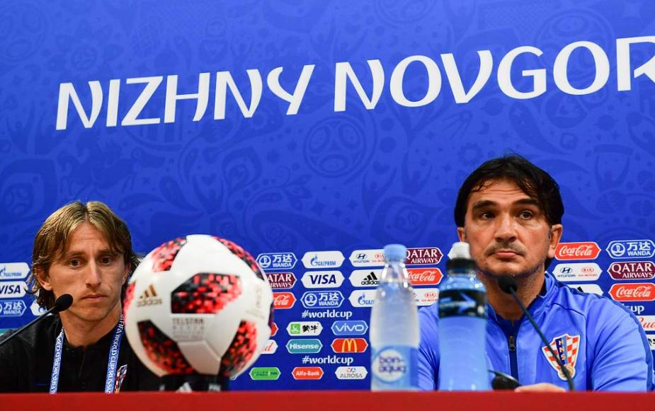 达里奇:若莫德里奇拿到世界杯金球,我会是最快乐的人