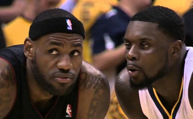 斯蒂芬森吹气gif_他乡遇故知,一图流回顾:兰斯-史蒂芬森吹气詹姆斯_虎扑NBA新闻