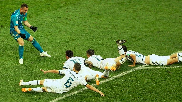 俄罗斯成世界杯史上国际足联排名最低的8强球队