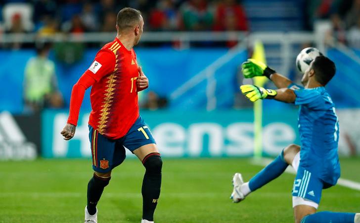 GIF:结束了!阿斯帕斯点球偏出俄罗斯淘汰西班牙