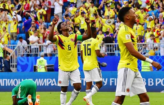 哥伦比亚染红后腰:首轮那张红牌让我至今都很生气