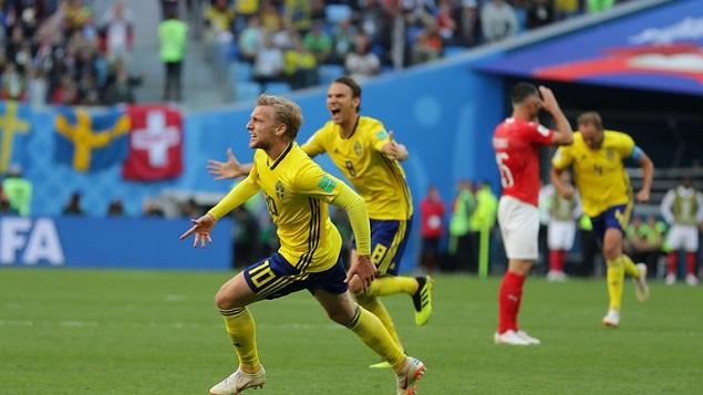 福斯贝里破门制胜,瑞典1-0瑞士