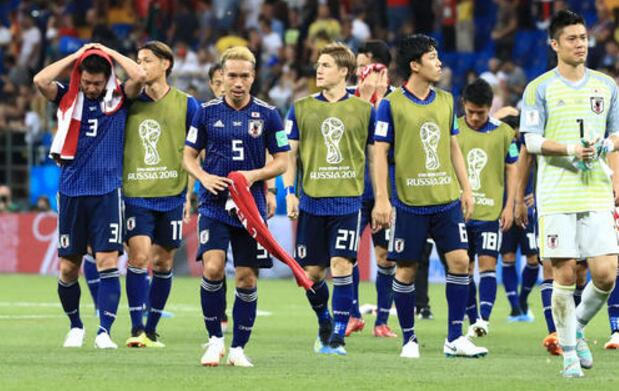 日本队遗憾出局却赢得尊重