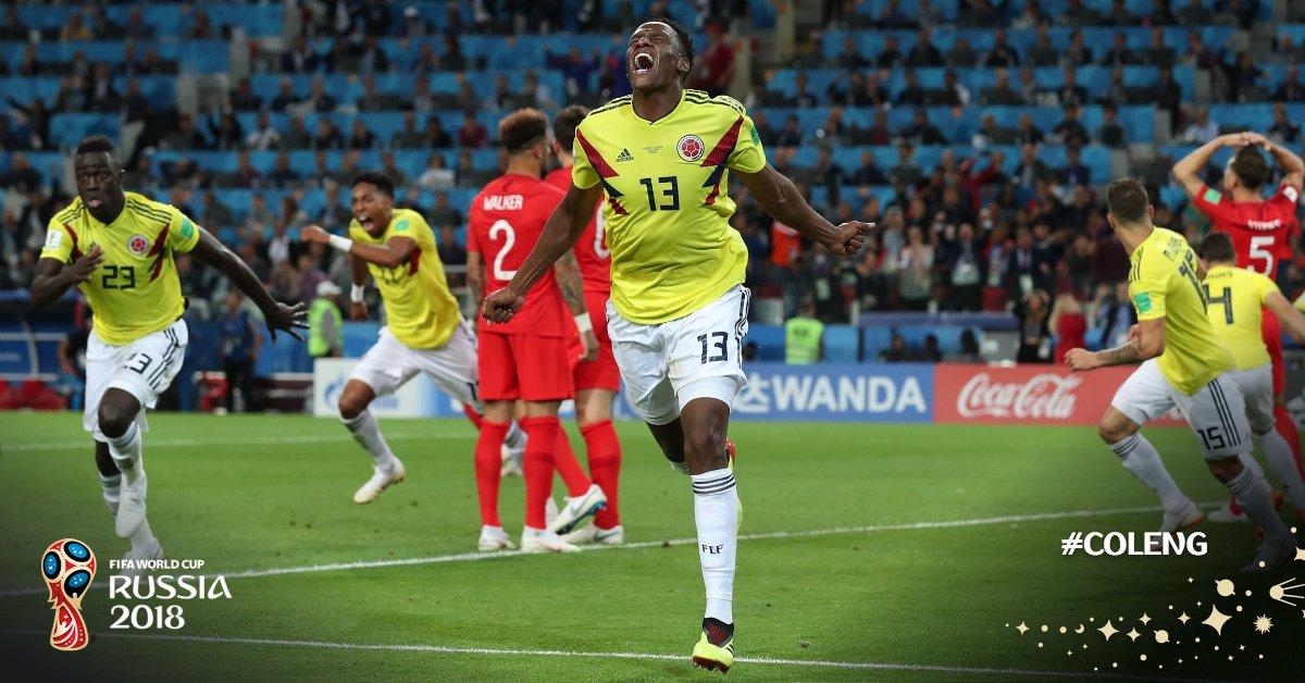 补时扳平,米纳攻防俱佳难阻哥伦比亚出局