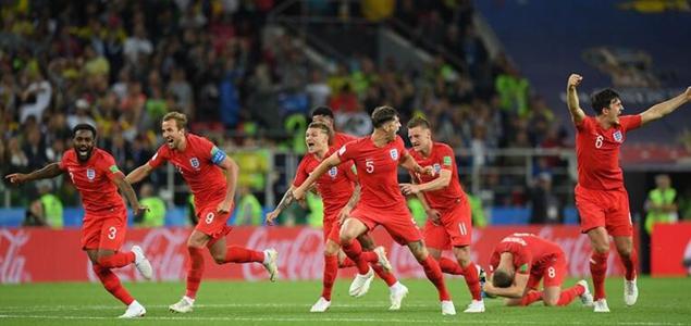 皮克福德扑点,英格兰点球4-3总比分5-4淘汰哥伦比亚