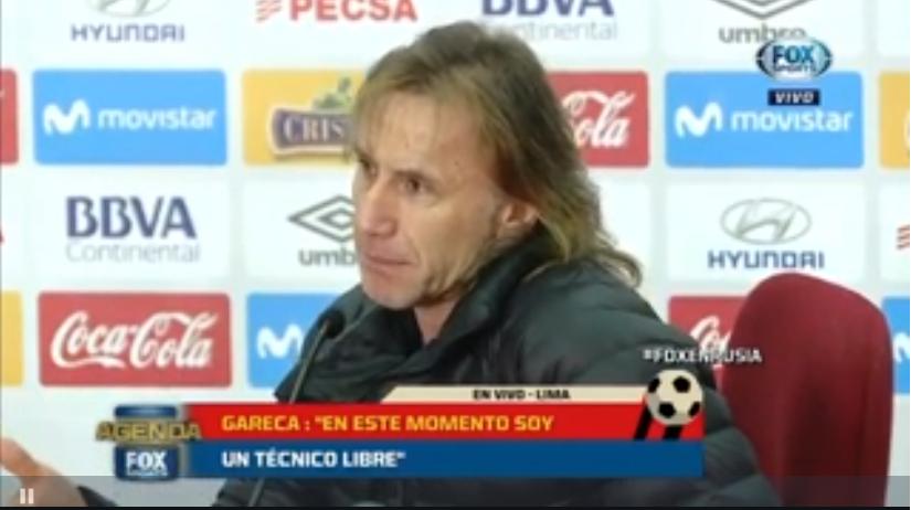 秘鲁主帅加雷卡:执教阿根廷对于任何教练都很有吸引力