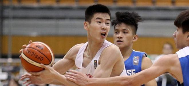 U18亚青赛:中国和菲律宾、黎巴嫩、阿联酋同组