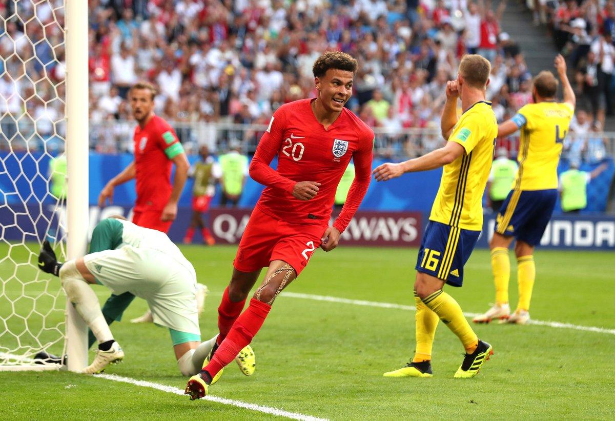 年轻有为!阿里成英格兰队史第二年轻世界杯进球者