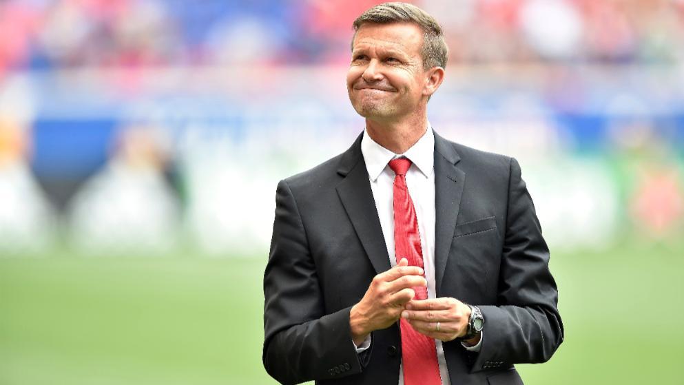 德媒:纽约红牛主帅将成为莱比锡新赛季过渡教练