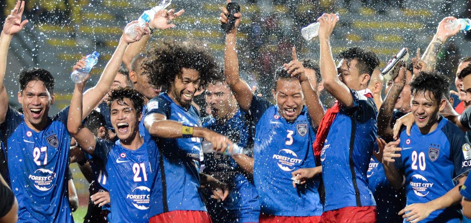 联赛夺冠,柔佛DT成第一支参加亚冠正赛的马来西亚球队