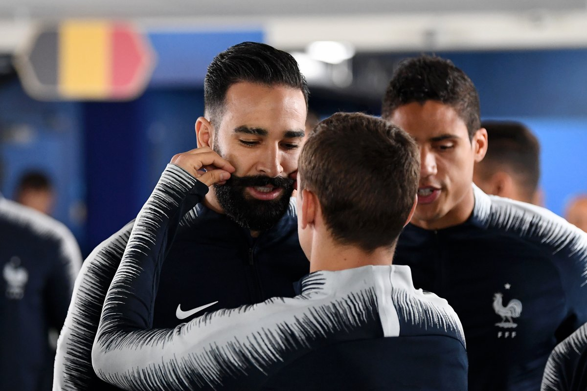 真·吉祥物?拉米的胡子成为了法国队的幸运符