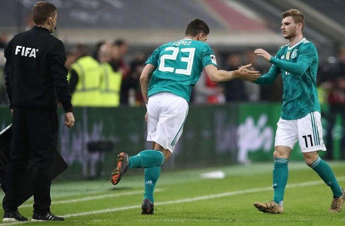 胡梅尔斯弟弟:德国队要更新换代,戈麦斯可以被替代了
