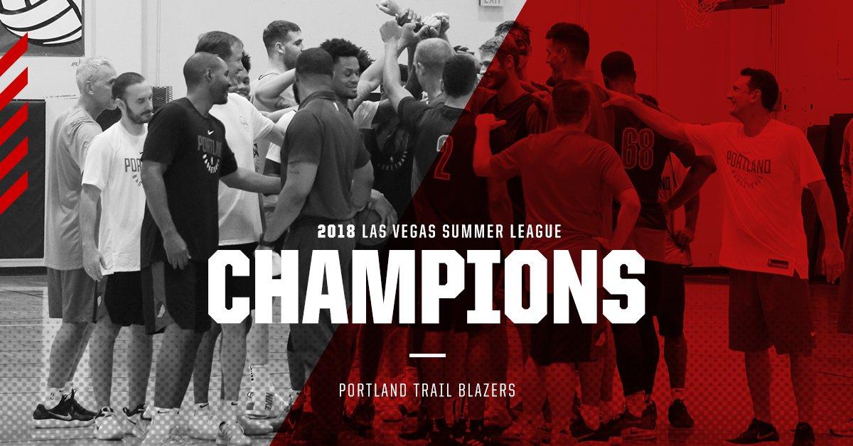 开辟者取得2018年拉斯维加斯夏日联赛冠军