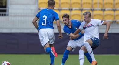 意大利U19欧青赛小组头名出线获世青赛资格