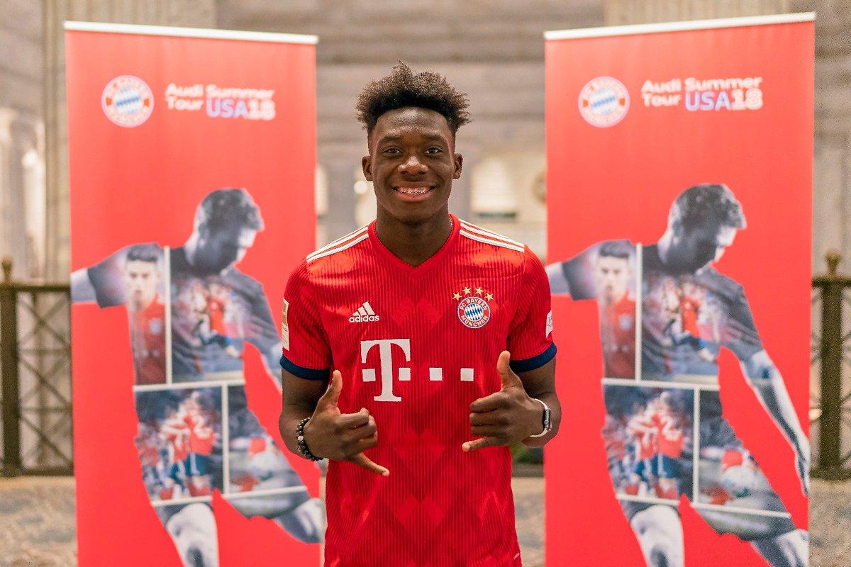 官方:拜仁慕尼黑俱乐部宣布签下小将戴维斯