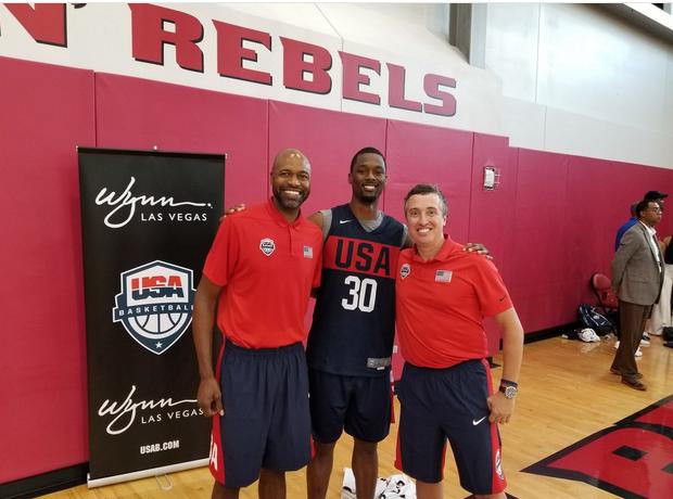 哈里森-巴恩斯谈参加美国男篮训练营:会努力变得更好