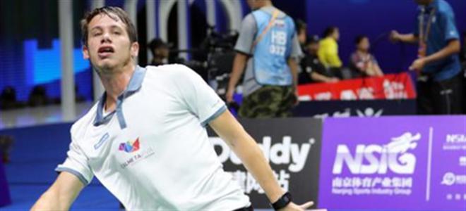 葡萄牙羽毛球选手道心酸:打球只是兼职