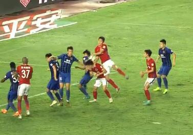 GIF:空欢喜!王上源手球,胡靖航绝平球被裁判取消