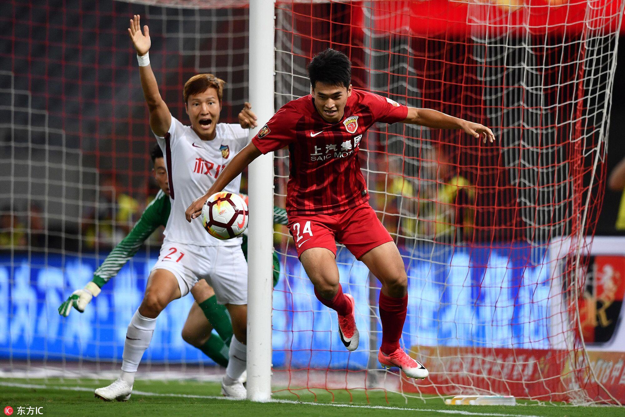 快讯:适用亚运新规,上港在场11人没有U23球员