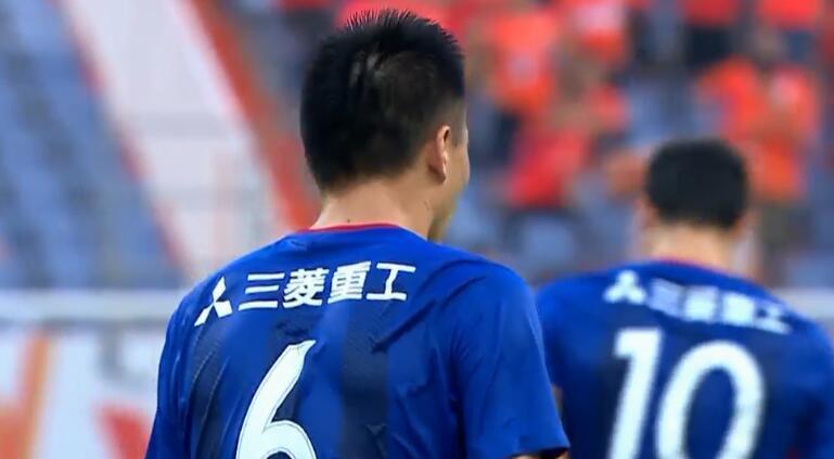 GIF:格德斯扫传,栗鹏不慎摆乌龙!鲁能1-1申花