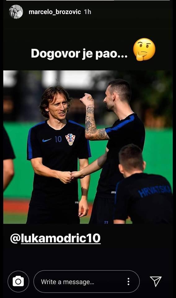 已经宣过了?布罗佐维奇世界杯时曾艾特魔笛:协议已经达成