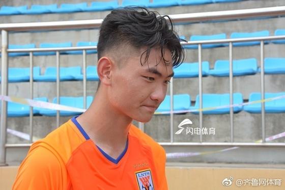 鲁能小将刘超阳:为球队自豪,目标是潍坊杯最佳射手