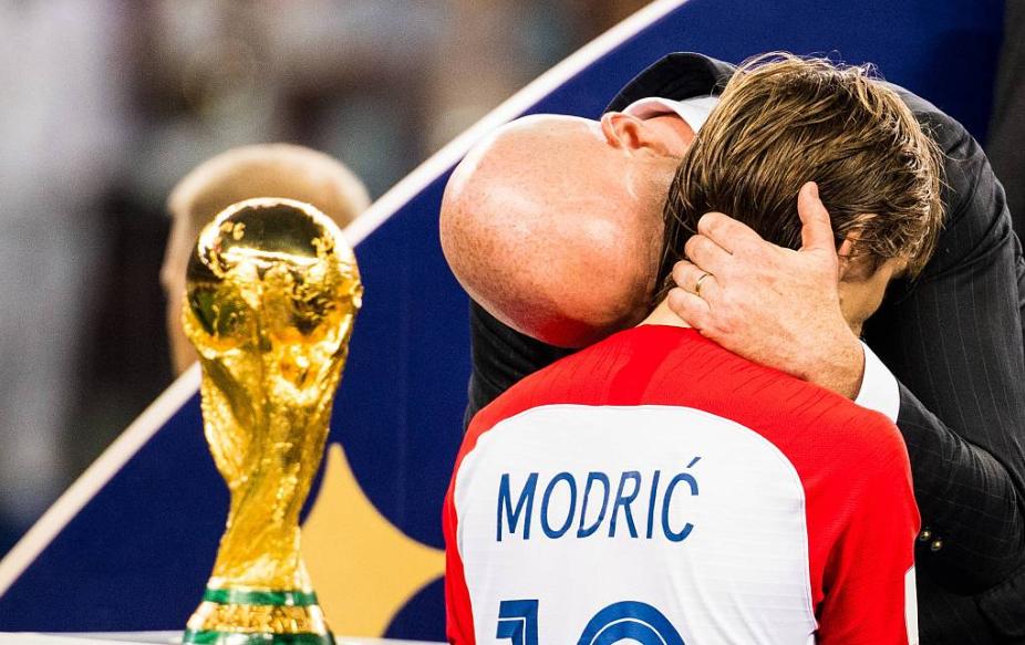 体育图片报用户评选世界足球先生:莫德里奇居首