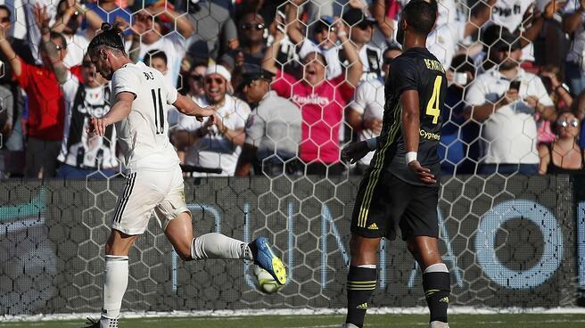 国际冠军杯:贝尔世界波阿森西奥双响,皇马3-1逆转尤文图斯