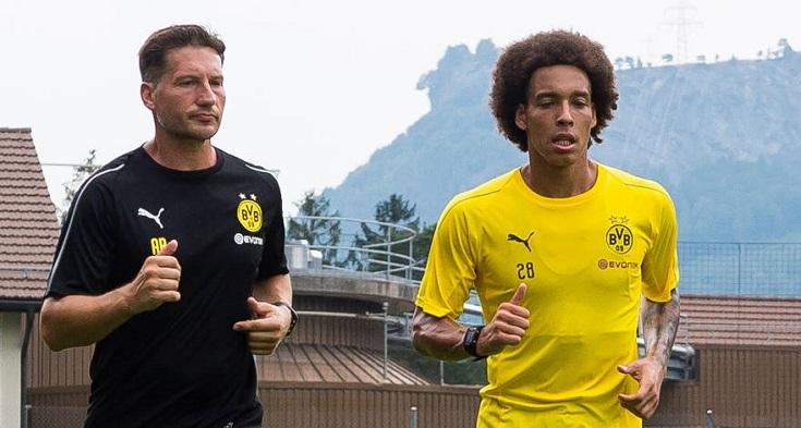 维特塞尔:多特是欧洲最佳之一,尝试在场上成为领袖球员