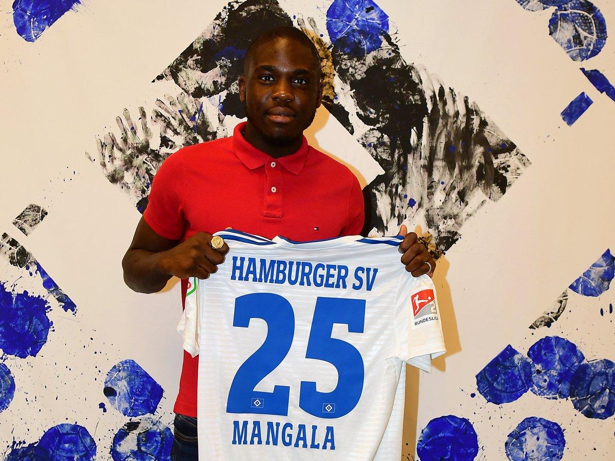 官方:斯图加特中场曼加拉租借加盟汉堡
