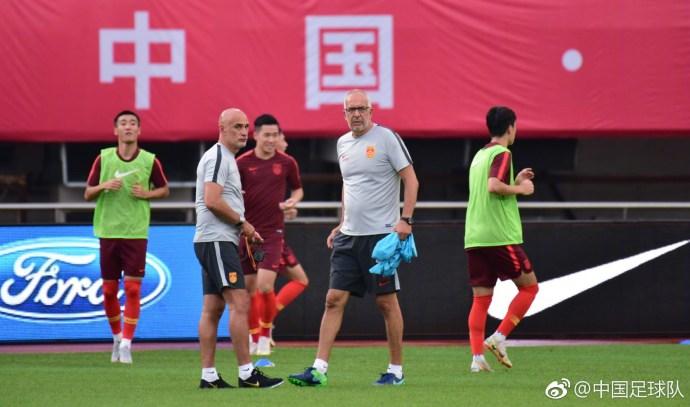 U23国足友谊赛首发:黄紫昌搭档张玉宁,韦世豪替补