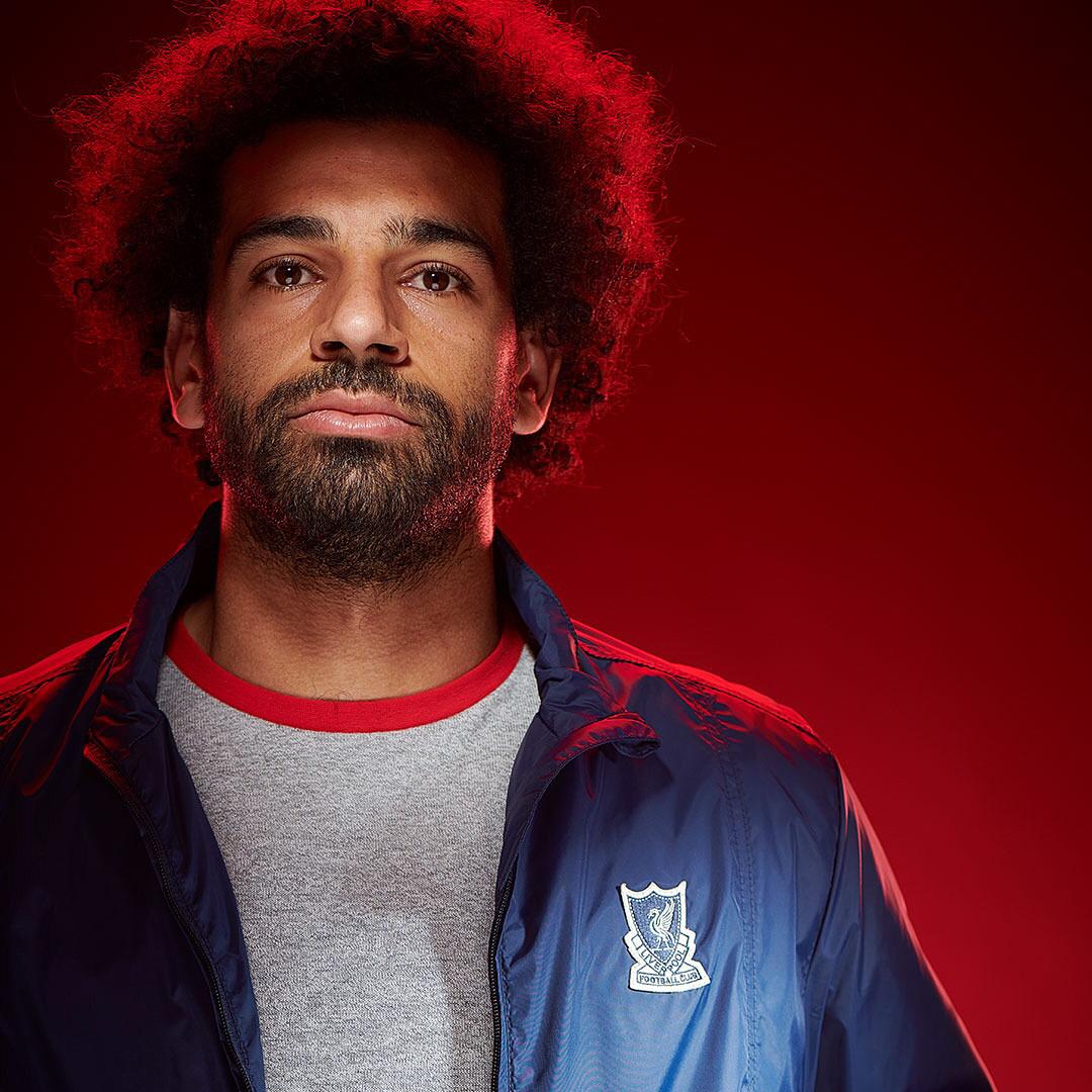多图流:利物浦出多款主题运动服, 萨拉赫领衔球星拍摄海报