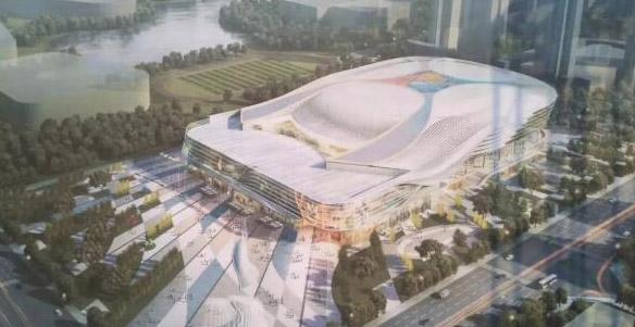 金强国际赛事中心开工,打造中国麦迪逊广场花园