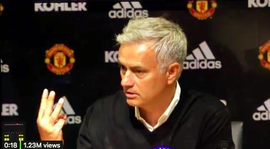穆帅怼记者后离席: 3-  0意味着我的英超冠军比其他教练都多, 你得尊重我