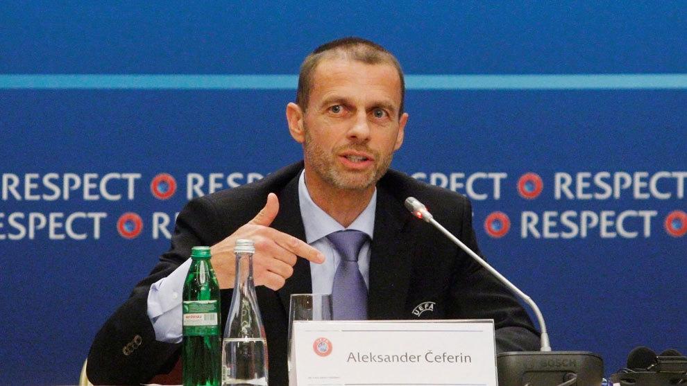 欧足联主席皇马没在期待欧足联对PSG的惩罚