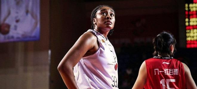 WNBA太阳队官宣前锋摩根- 塔克将加盟北京队