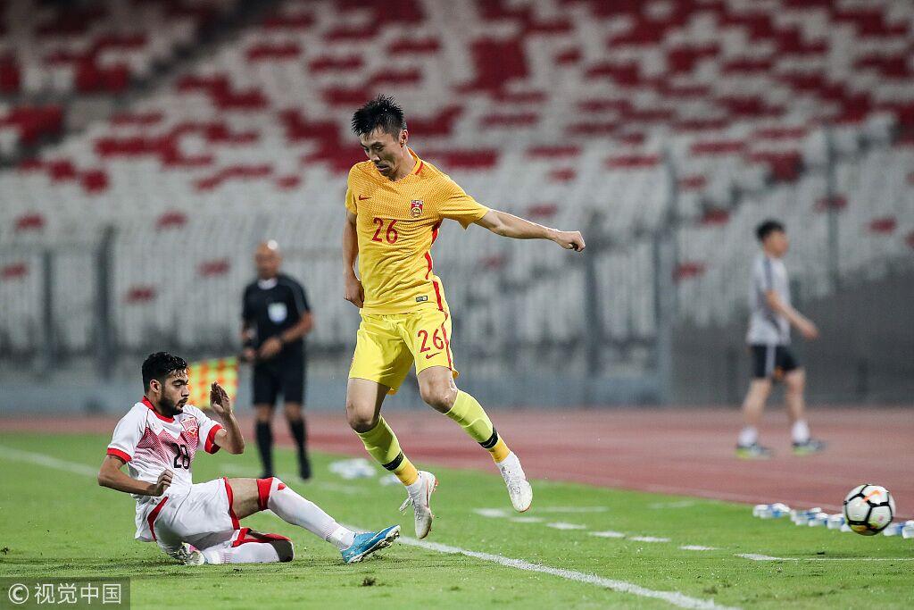 热身:武磊两中门框冯潇霆险造乌龙,巴林0-0国足