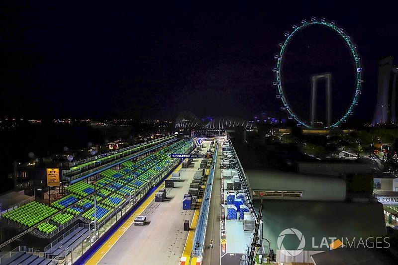 新加坡赛道长度缩减两米