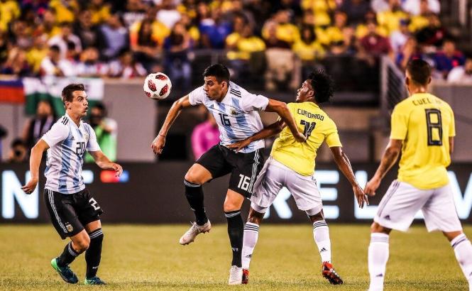 热身赛:巴卡失良机奥斯皮纳屡献神扑,哥伦比亚0-0阿根廷