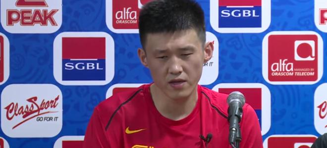 周鹏:关键球处理得不好, 比赛收获经验